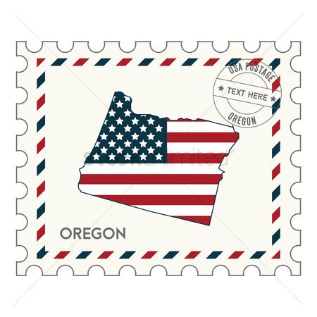Oregon : Oregon postage stamp