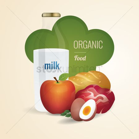 Fruit : Organic food