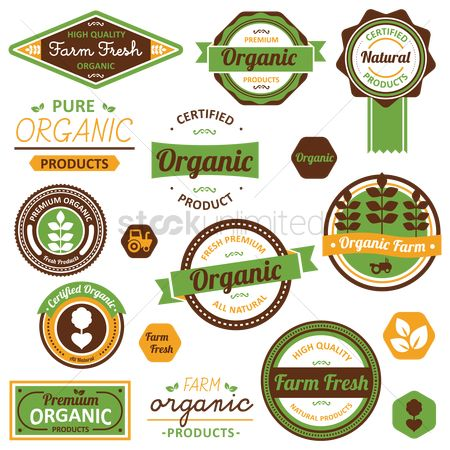 Products : Organic label collection