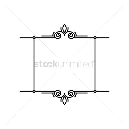Borders : Ornamental frame