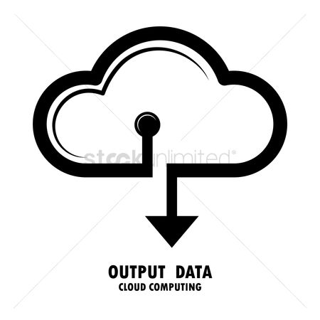 Downloading : Output data cloud computing