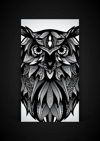 Phones : Owl mobile interface wallpaper