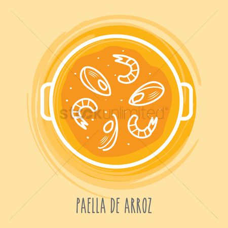 Main : Paella de arroz