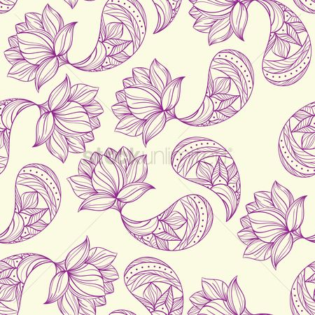 Wallpaper : Paisley design