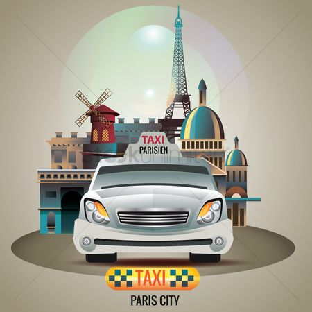 Taxis : Paris city taxi