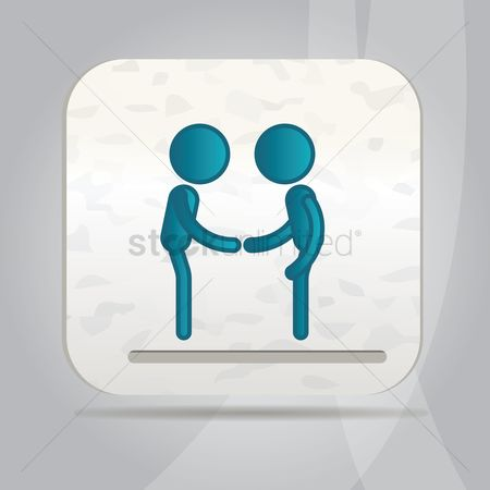 Business deal : Partner icon