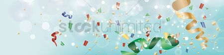 Multicolor : Party banner