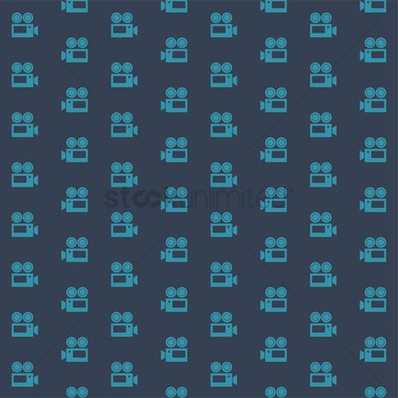 Reels : Patterned film camera background