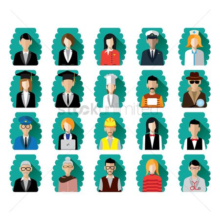 Workers : People collection avatar