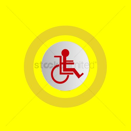 Wheelchair : Person on wheelchair
