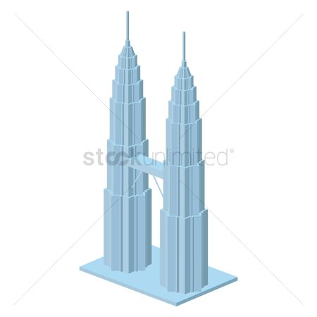 Towers : Petronas towers