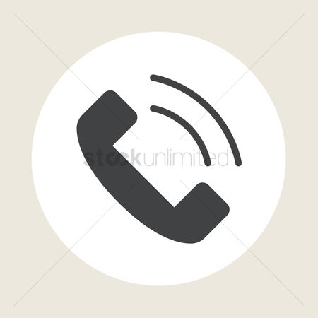 Receivers : Phone call icon