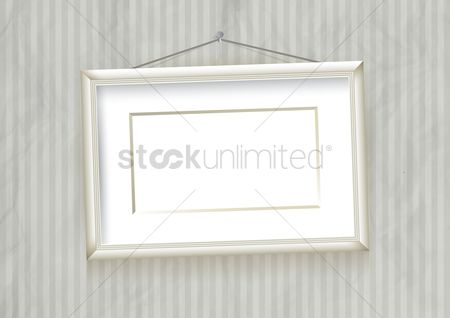 Wall : Photo frame on wall