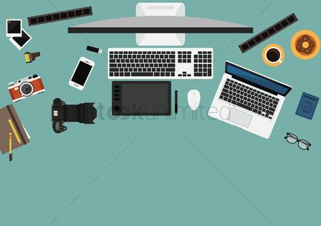 Photography : Photographer workspace design