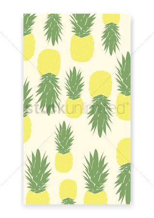 Pineapple : Pineapple pattern design