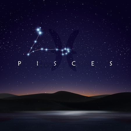 Horoscopes : Pisces constellation
