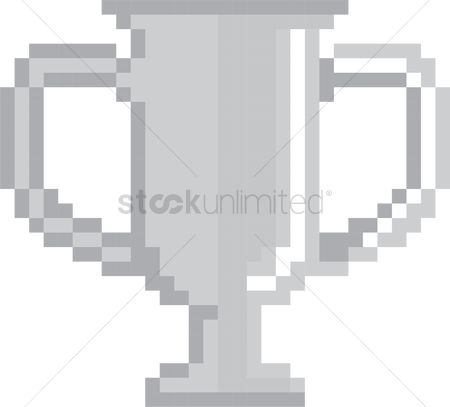 Reward : Pixel silver trophy