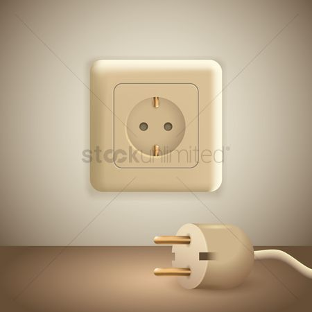Electricity : Plug and socket
