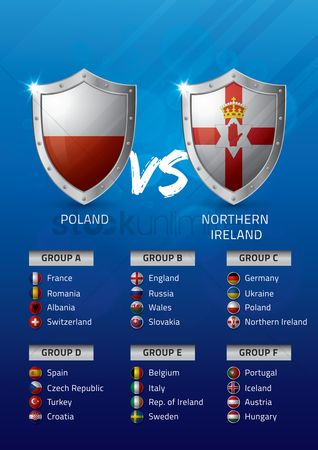 Ukraine : Poland vs northern ireland
