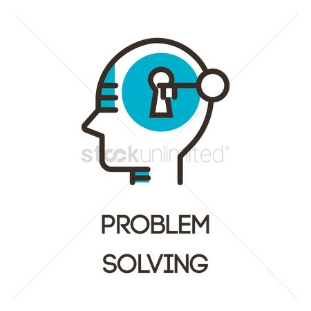 Researching : Problem solving icon