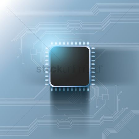 Hardwares : Processor on circuit board design