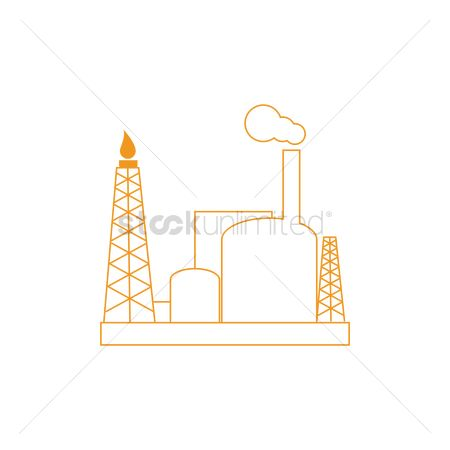 Petroleum : Production platform