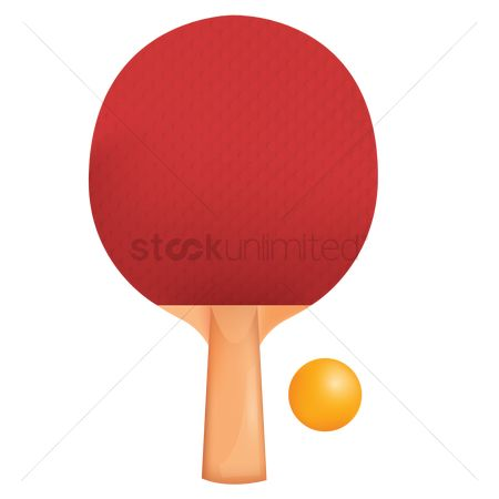 Indoor : Racket and ball