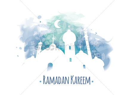 Traditions : Ramadan kareem greeting
