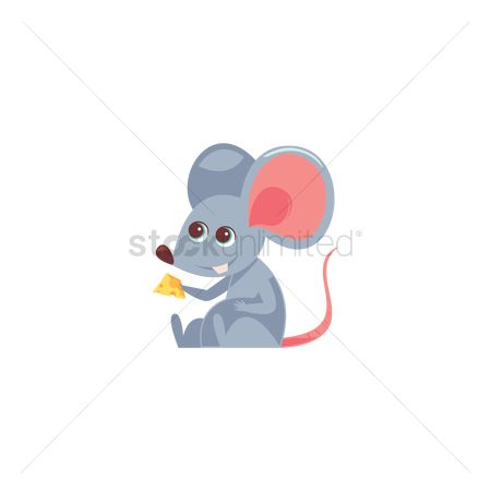 Eat : Rat eating cheese