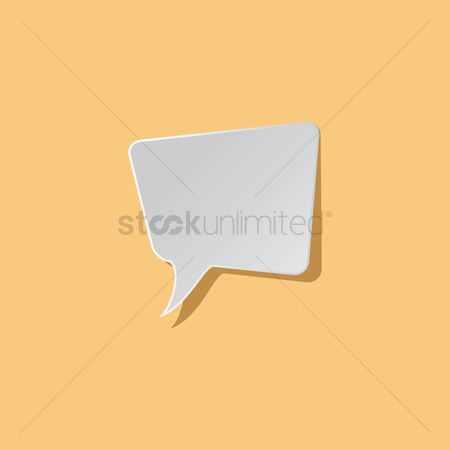 Talking : Rectangular chat bubble icon