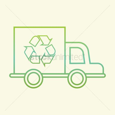 Wastage : Recycle truck