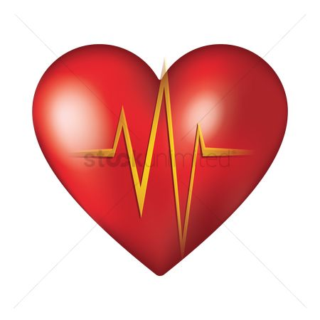Health : Red heart beat