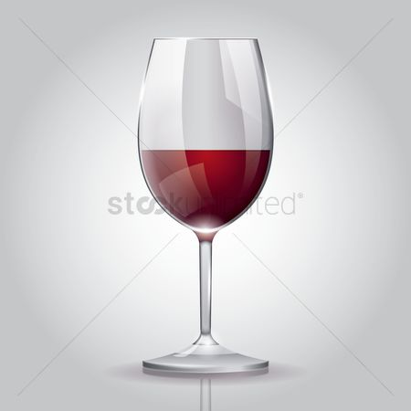 Alcohols : Red wine glass