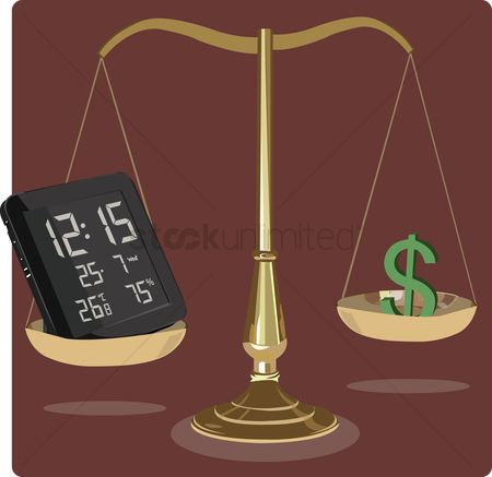 Notification : Relationship between time and money