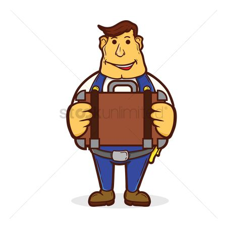 Repairman : Repairman with a briefcase