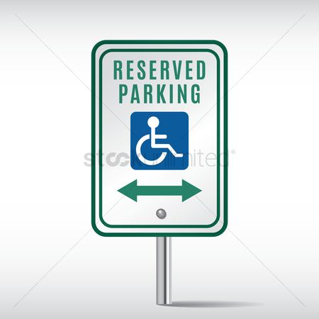 Roadsigns : Reserved parking