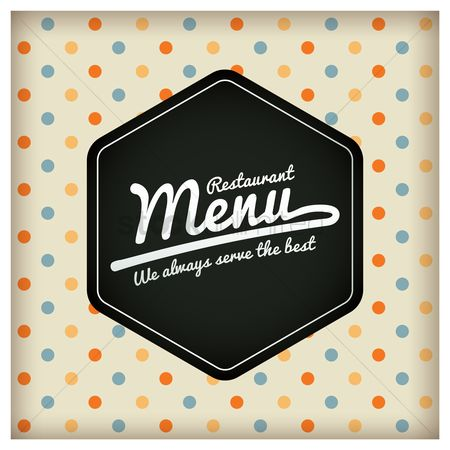 Serve : Restaurant menu design