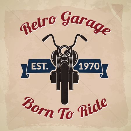 Oldfashioned : Retro garage
