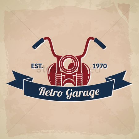 Old fashioned : Retro garage