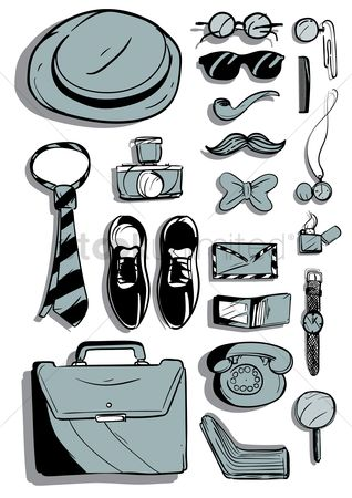 Briefcase : Retro style men s accessories