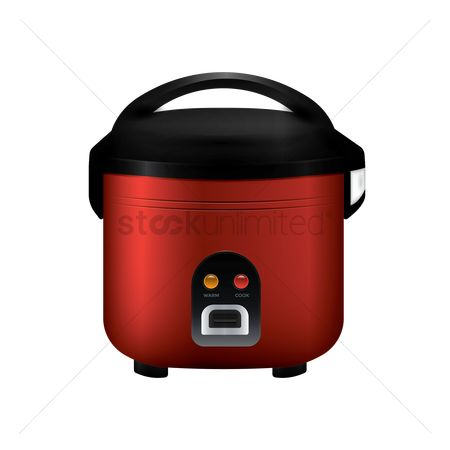 Steam : Rice cooker