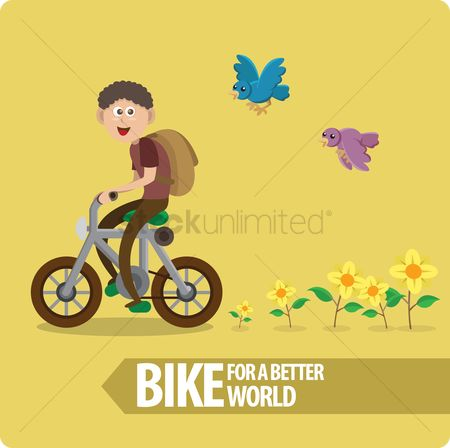 Pollutions : Ride bike for a better world