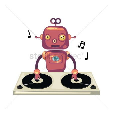 Mechanicals : Robot dj