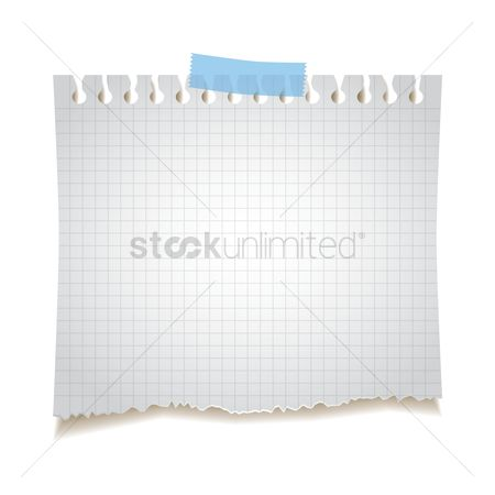 Supply : Ruled paper