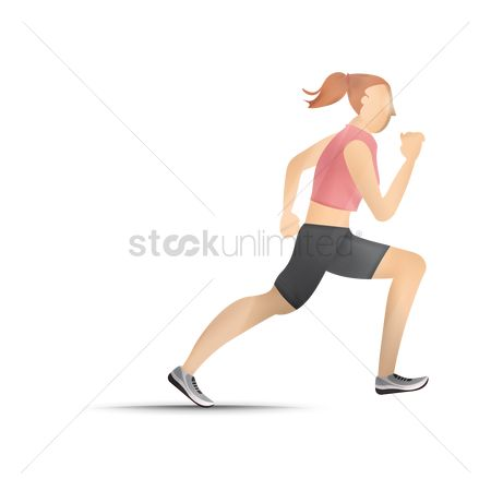 Race : Running girl