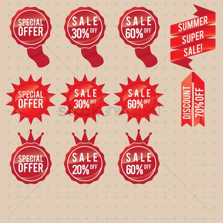 E commerces : Sale labels