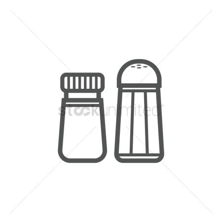 Flavors : Salt and pepper condiments