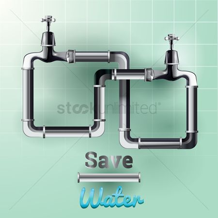 Aware : Save water