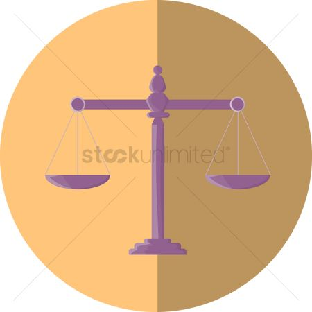 Equality : Scale of justice