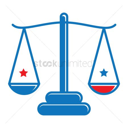 Votes : Scale of justice